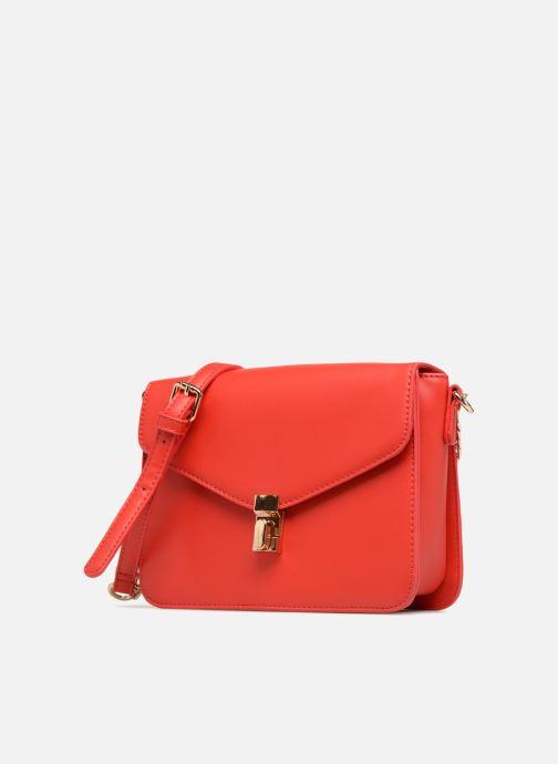 Handtaschen Georgia Rose Justine rot schuhe getragen