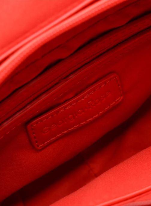 Handtassen Georgia Rose Justine Rood achterkant