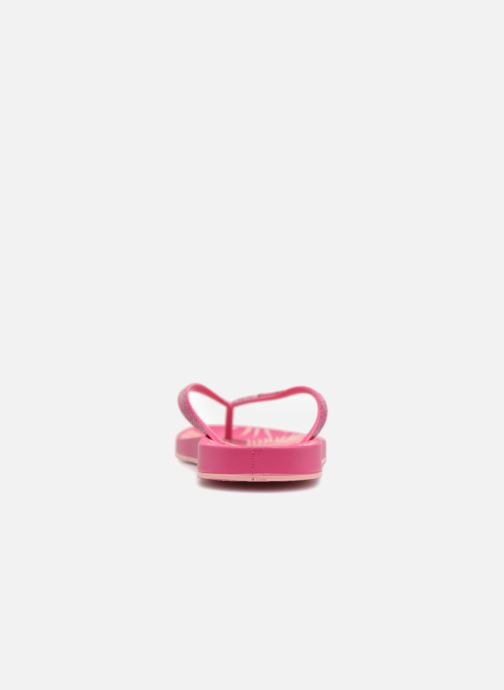 Chanclas Ipanema Anat Nature II Rosa vista lateral derecha