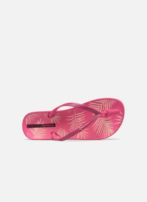Chanclas Ipanema Anat Nature II Rosa vista lateral izquierda