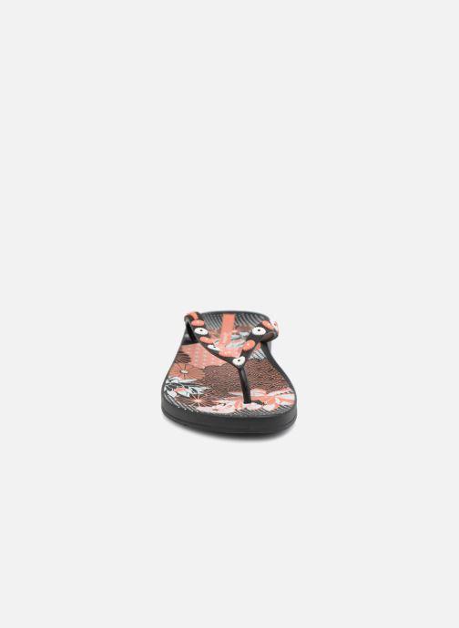 Tongs Ipanema Anat Lovely VIII Noir vue portées chaussures