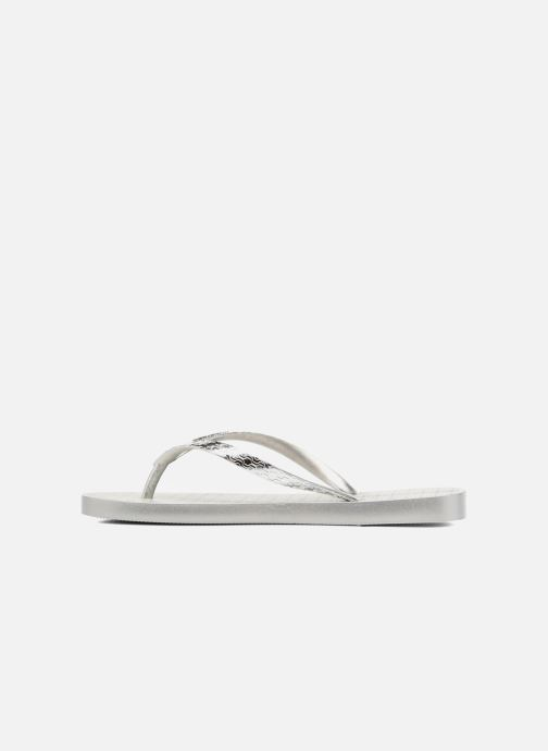 Flip flops Ipanema Glam Silver front view