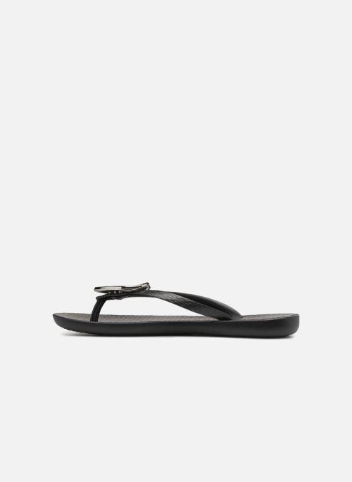 Zehensandalen Ipanema Maxi Fashion II schwarz ansicht von vorne