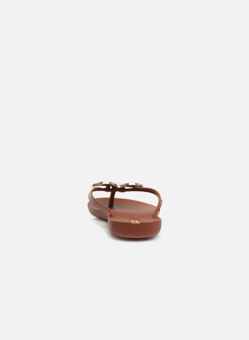 Slippers Ipanema Maxi Fashion II Bruin rechts