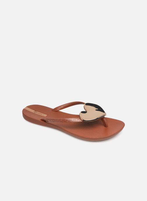 Tongs Ipanema Maxi Fashion II Marron vue détail/paire