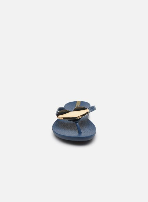 Zehensandalen Ipanema Maxi Fashion II blau schuhe getragen