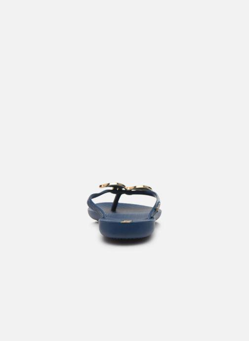 Tongs Ipanema Maxi Fashion II Bleu vue droite