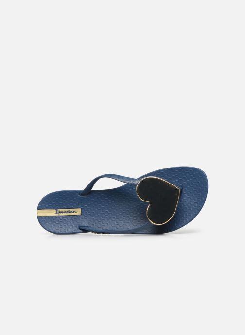 Tongs Ipanema Maxi Fashion II Bleu vue gauche