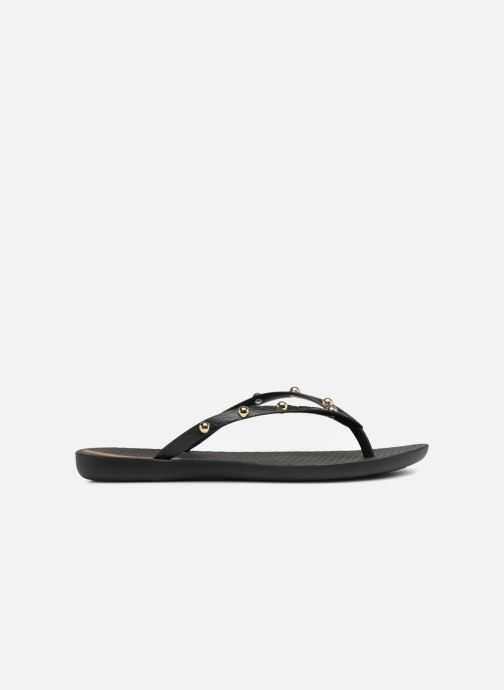 Chanclas Ipanema Wave Glam Negro vistra trasera