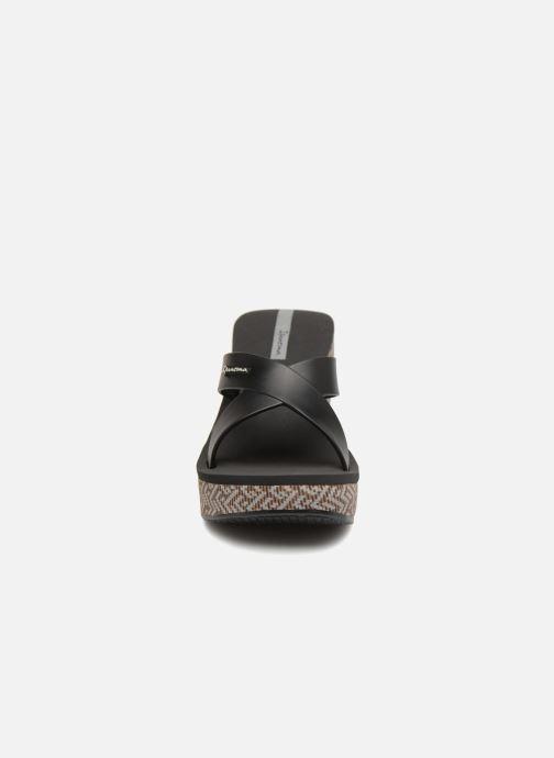 Mules et sabots Ipanema Lipstick Straps IV Noir vue portées chaussures