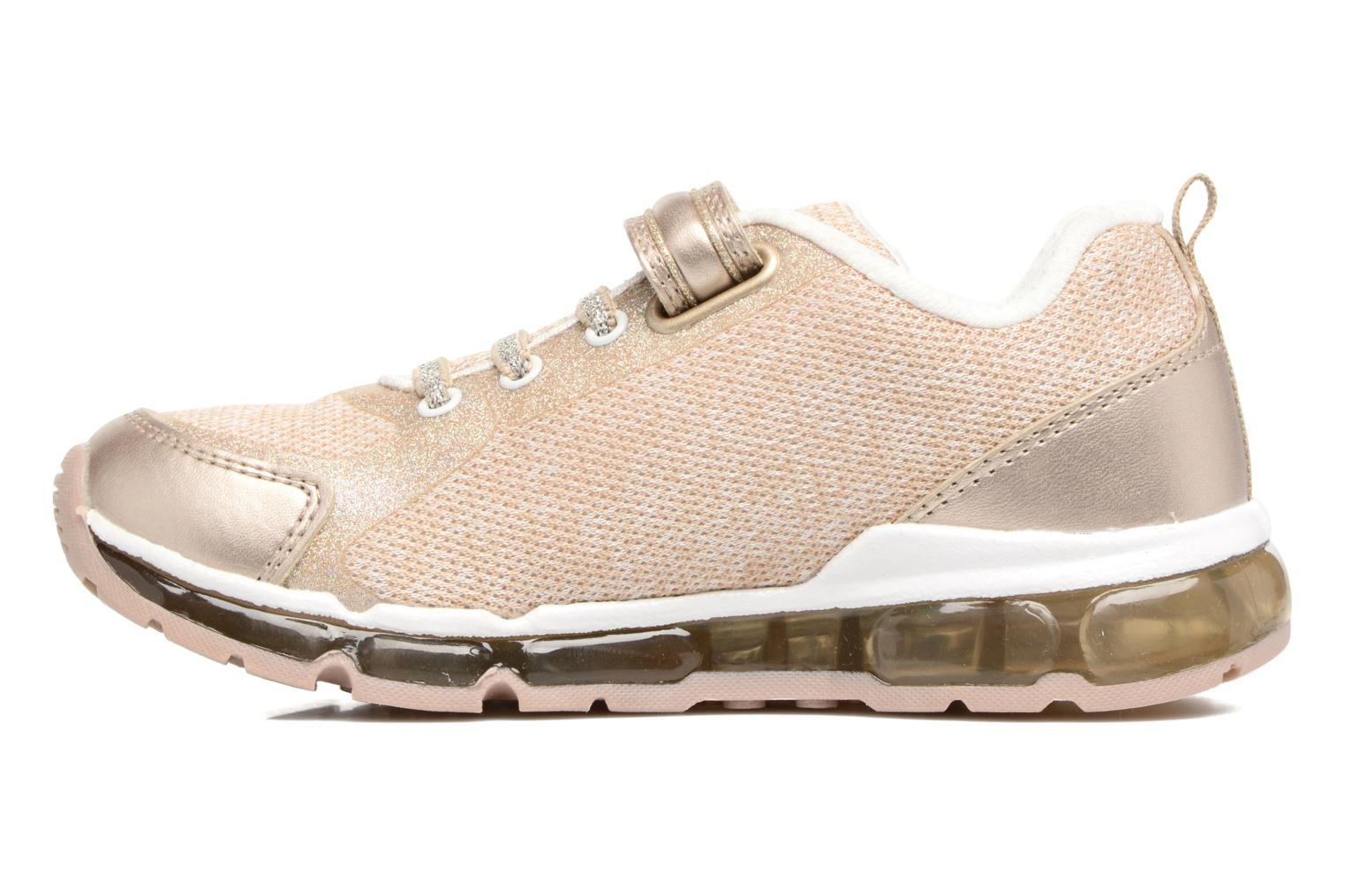 Sneakers Geox J Android G. B J8245B Oro e bronzo immagine frontale