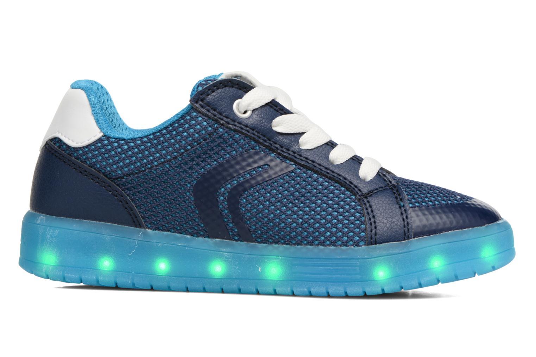 Sneakers Geox J Kommodor B.A J825Pa Blauw achterkant