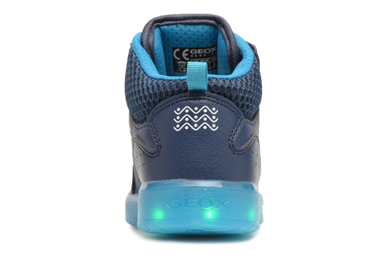 Baskets Geox J Kommodor B.C J825Pc Bleu vue droite