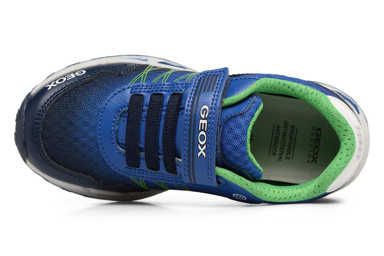Sneakers Geox J Shuttle B. B J8294B Azzurro immagine sinistra