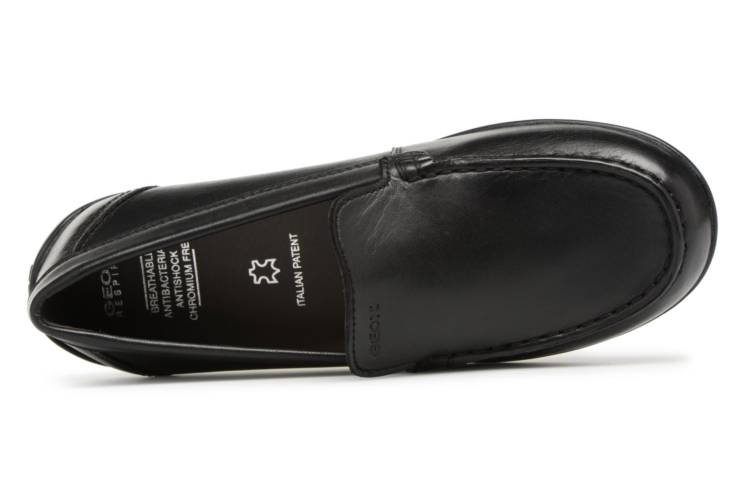 Mocassins Geox J New Fast B. B J746CB Zwart links