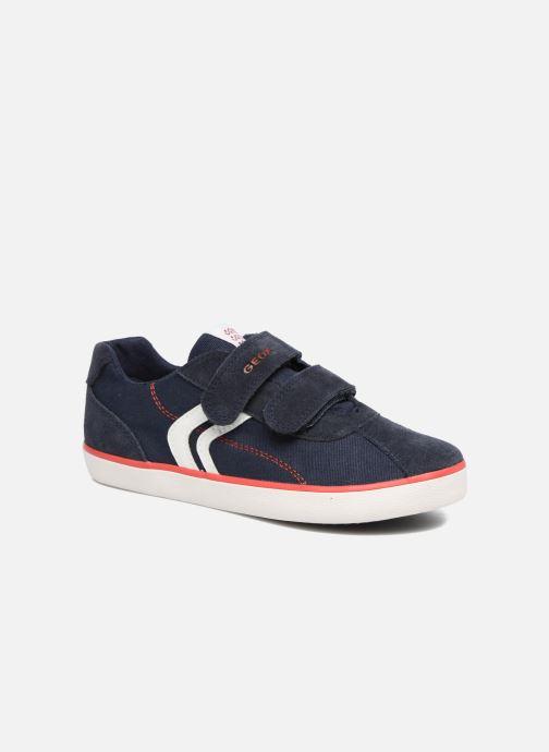 Sneakers Geox J Kilwi B. I J82A7I Blå detaljeret billede af skoene