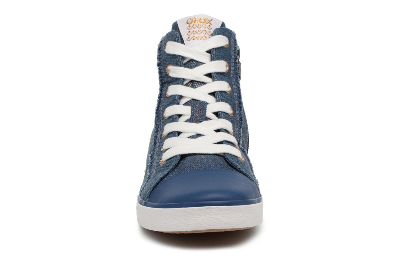Baskets Geox J Kilwi G. C J82D5C Bleu vue portées chaussures