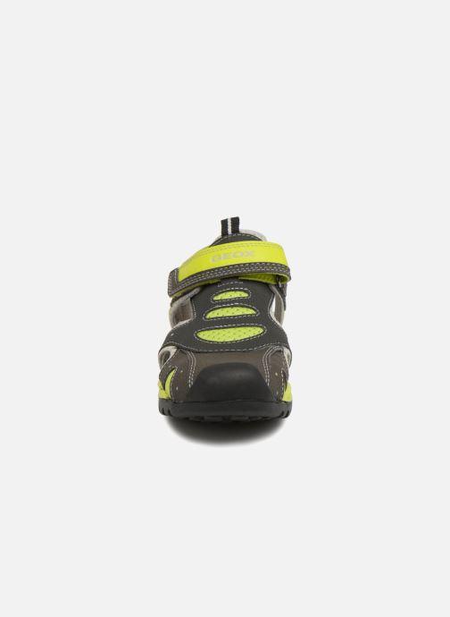 Sandales et nu-pieds Geox J Borealis B. C J820RC Gris vue portées chaussures
