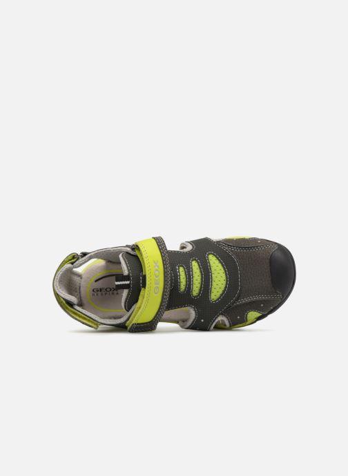 Sandales et nu-pieds Geox J Borealis B. C J820RC Gris vue gauche