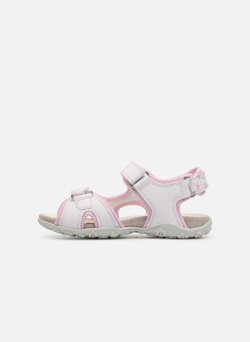 Sandali e scarpe aperte Geox J S.Roxanne A J52D9A Rosa immagine frontale cde450e6dd2