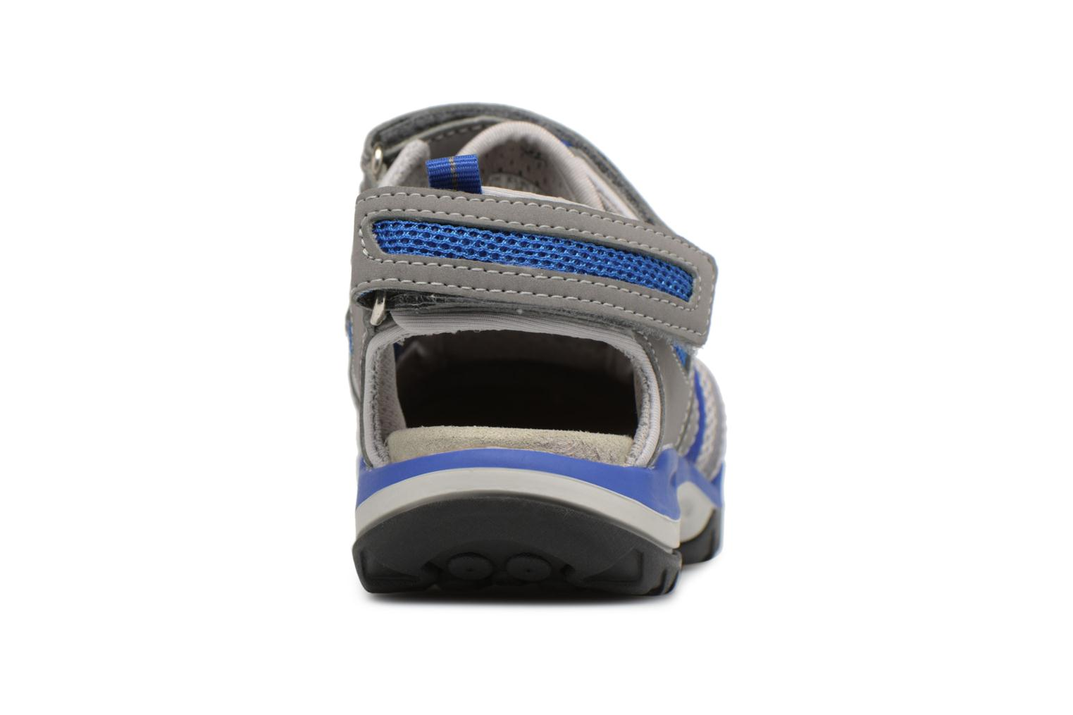 Sandals Geox J Borealis B. C J720RC Grey view from the right