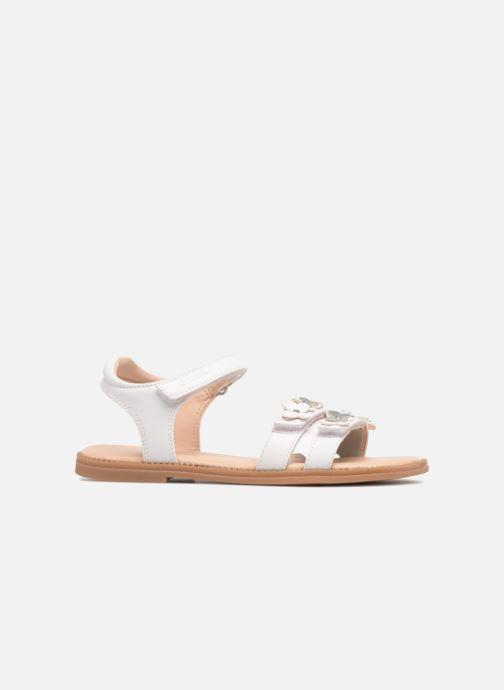 Sandales et nu-pieds Geox J S.Karly G. I J8235I Blanc vue derrière