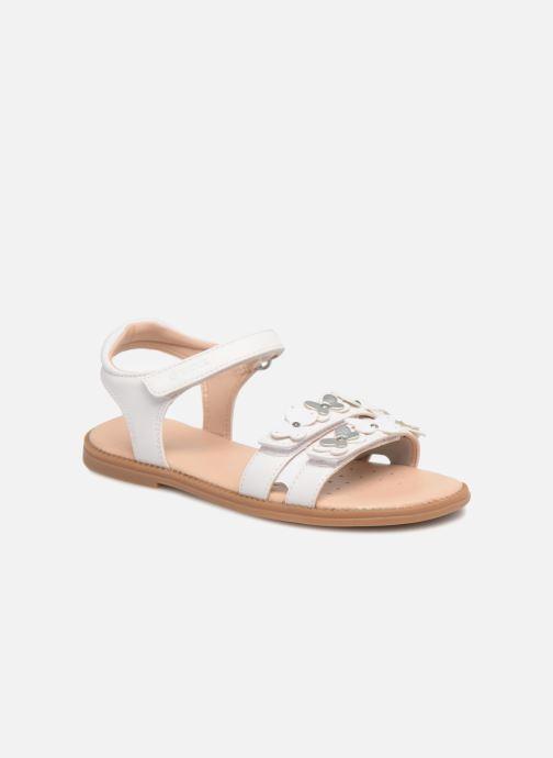 Sandales et nu-pieds Geox J S.Karly G. I J8235I Blanc vue détail/paire