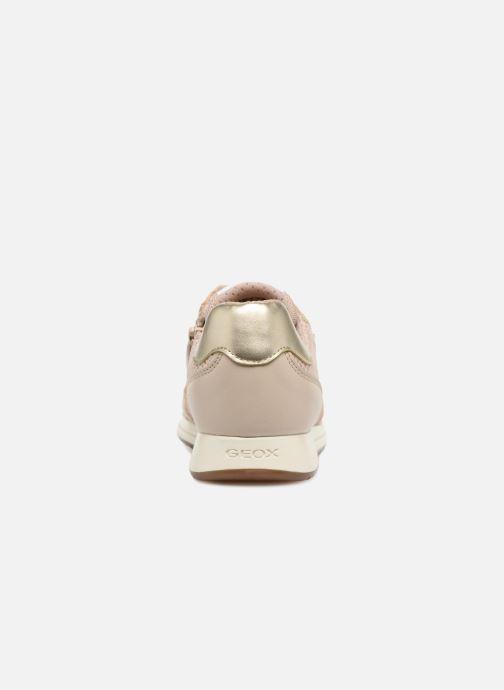 Sneakers Geox J Jensea G. D  J826FD Beige rechts