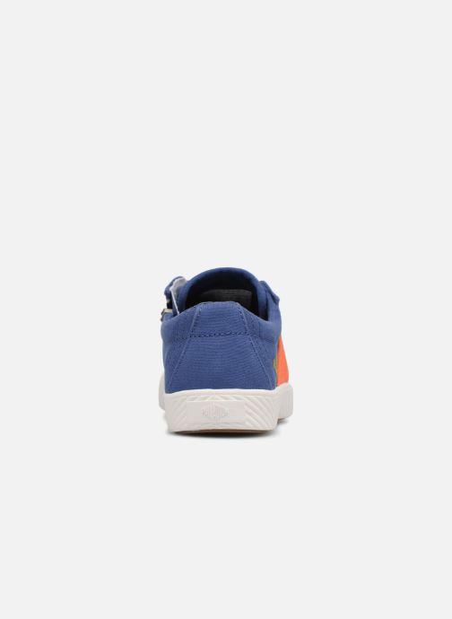 Sneakers Palladium Pallaflame Low Cvs K Blauw rechts