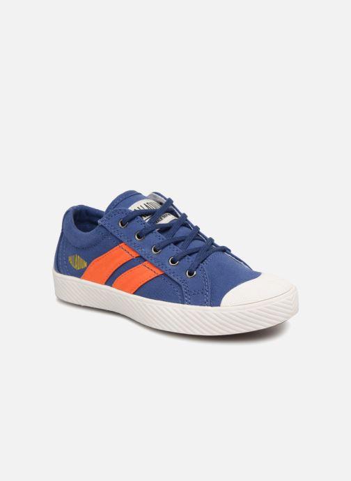 Sneakers Palladium Pallaflame Low Cvs K Blauw detail
