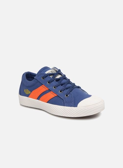 Baskets Palladium Pallaflame Low Cvs K Bleu vue détail/paire