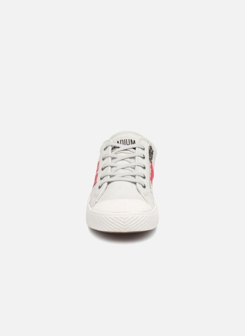 Baskets Palladium Pallaflame Low Cvs K Blanc vue portées chaussures