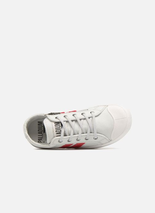 Sneakers Palladium Pallaflame Low Cvs K Bianco immagine sinistra