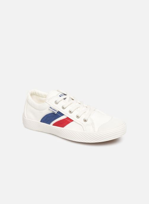 Baskets Palladium Pallaflame Low Cvs K Blanc vue détail/paire