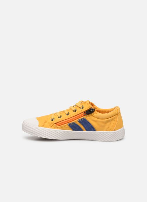 Sneakers Palladium Pallaflame Low Cvs K Geel voorkant