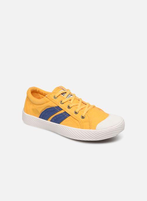 Sneakers Palladium Pallaflame Low Cvs K Gul detaljeret billede af skoene