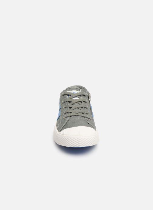 Baskets Palladium Pallaflame Low Cvs K Gris vue portées chaussures