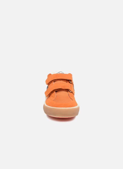 Baskets P-L-D-M By Palladium Vincey Orange vue portées chaussures