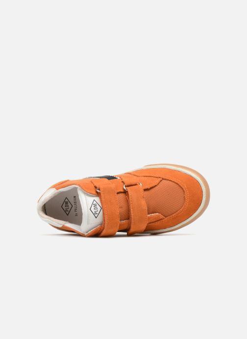 Baskets P-L-D-M By Palladium Vincey Orange vue gauche
