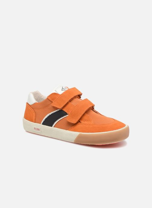 Baskets P-L-D-M By Palladium Vincey Orange vue détail/paire