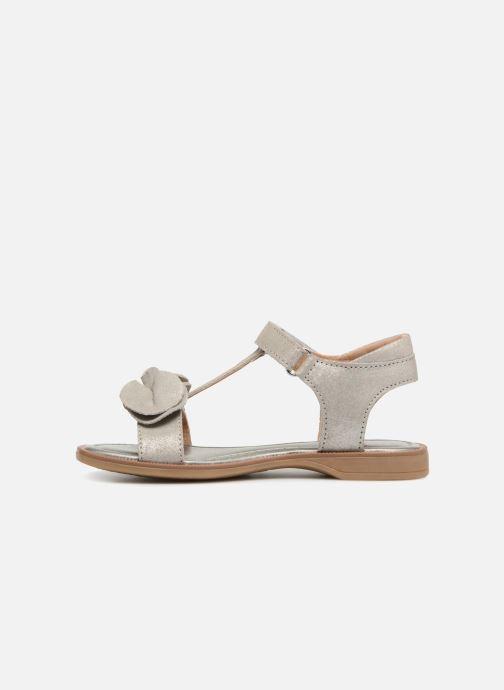 Sandales et nu-pieds P-L-D-M By Palladium Siggy Argent vue face