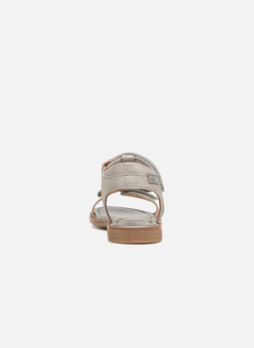 Sandales et nu-pieds P-L-D-M By Palladium Siggy Argent vue droite