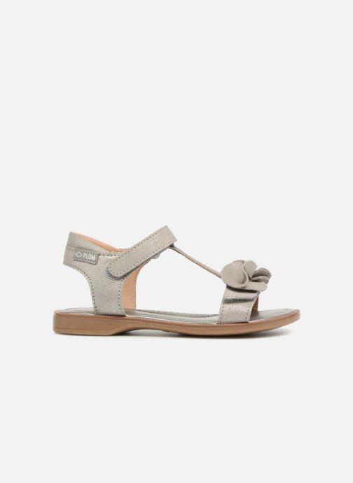 Sandales et nu-pieds P-L-D-M By Palladium Siggy Argent vue derrière