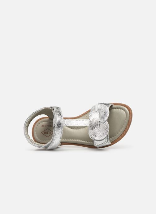 Sandals P-L-D-M By Palladium Siggy Silver view from the left