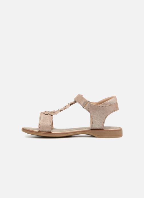 Sandali e scarpe aperte P-L-D-M By Palladium Salute Argento immagine frontale