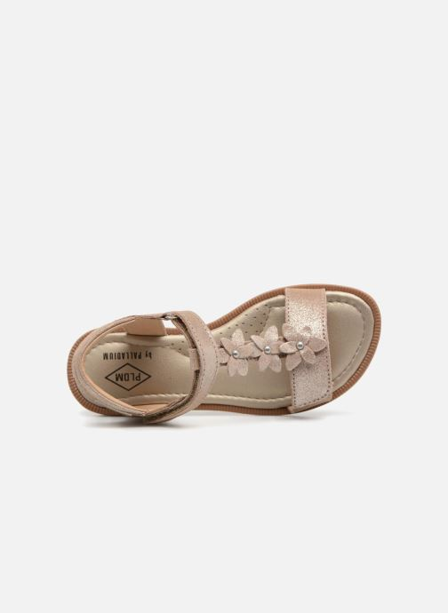 Sandali e scarpe aperte P-L-D-M By Palladium Salute Argento immagine sinistra
