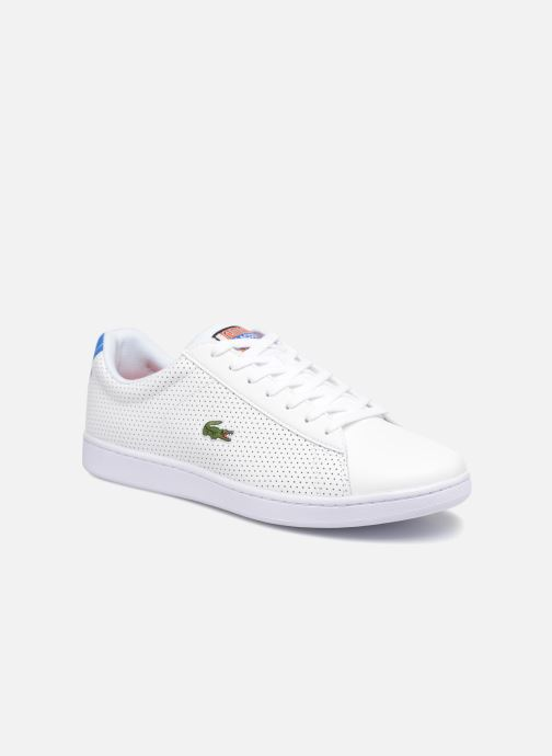 buy best best price save off Lacoste CARNABY EVO 218 2 (White) - Trainers chez Sarenza ...