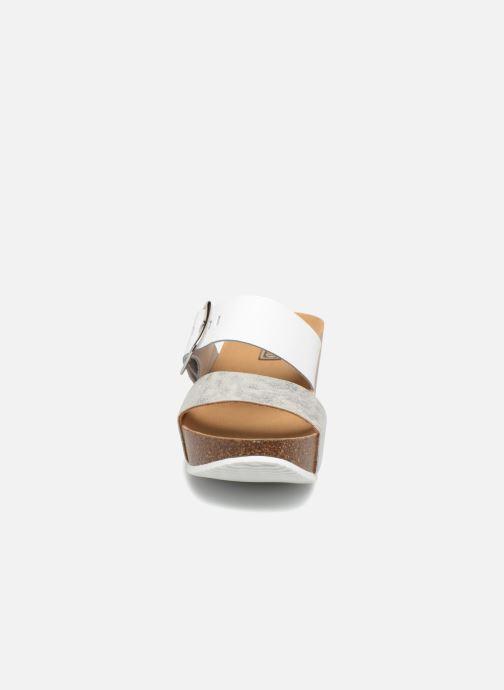 Mules et sabots Rondinaud Valadavia Blanc vue portées chaussures
