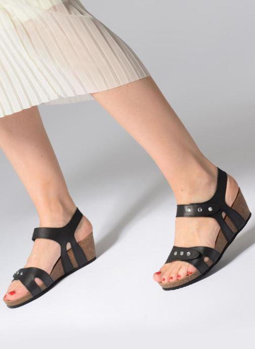 Sandali e scarpe aperte Rondinaud Vero Nero immagine dal basso