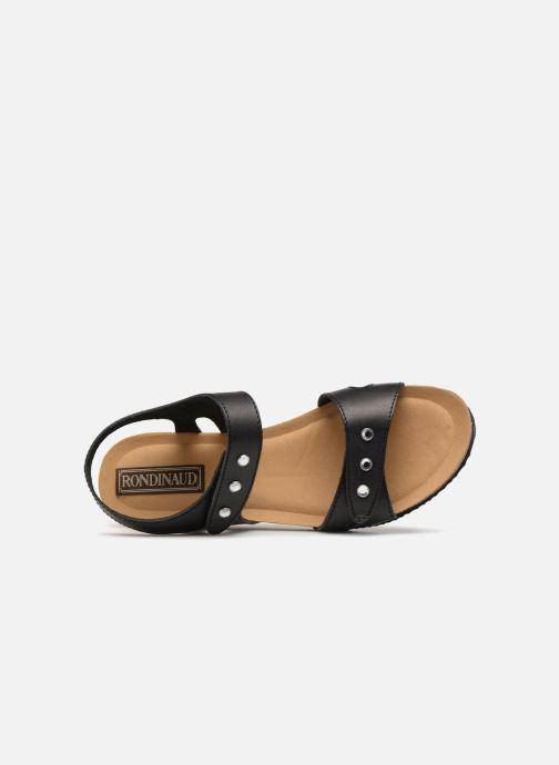 Sandali e scarpe aperte Rondinaud Vero Nero immagine sinistra
